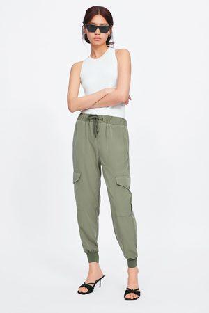 Zara Joggingbyxa med fickor