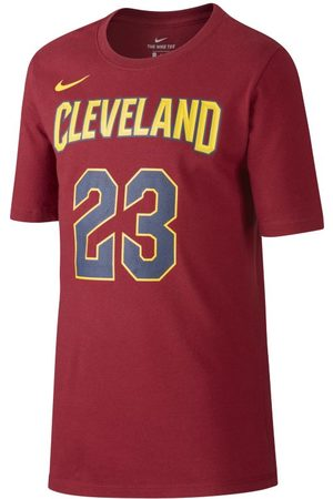 Nike T-shirt Icon NBA Cavaliers (James) för ungdom (killar)