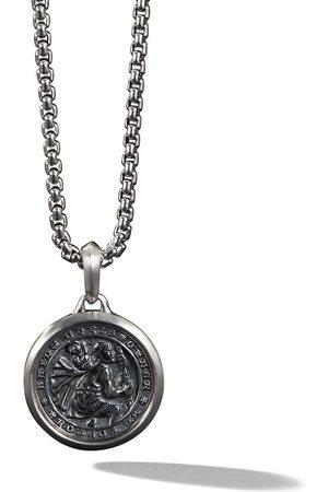 David Yurman Halsband med amulett av St. Christopher