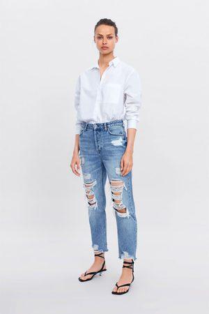 Zara Jeans z1975 hi-rise straight revor