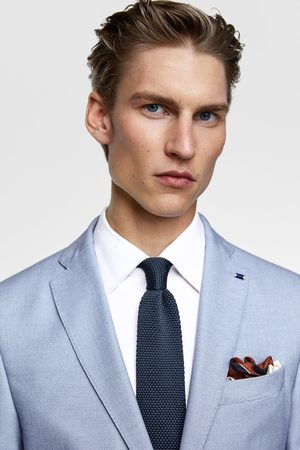 Zara Kostymkavaj av birdseye-väv