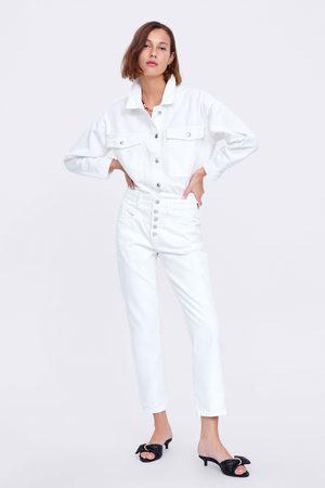 Zara Zw premium '80s straight jeans