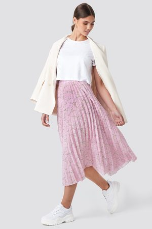 NA-KD Midi Pleated Skirt