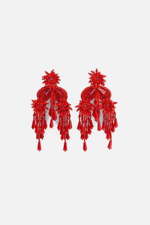 Zara örhängen med dekorpärlor