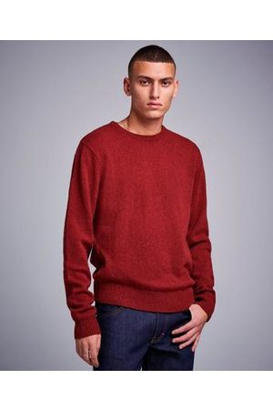 Studio Total Man Stickade tröjor - Garret Knitted Wool Crewneck