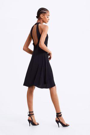 Zara Kvinna Halterneckklänningar - Halterneckklänning