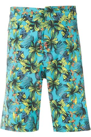 AMIR SLAMA Mönstrade shorts