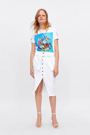 6870c3c57913 Köp Vita jeanskjolar för Kvinna Online | FASHIOLA.se | Jämför & köp