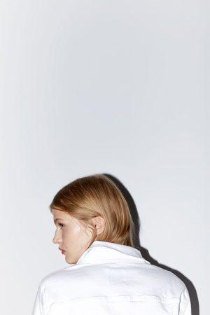 Zara Denimjacka i basmodell