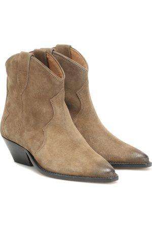 Isabel Marant Kvinna Cowboy & Biker Boots - Dewina suede ankle boots