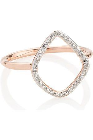 Monica Vinader Kvinna Ringar - RP Riva diamantring