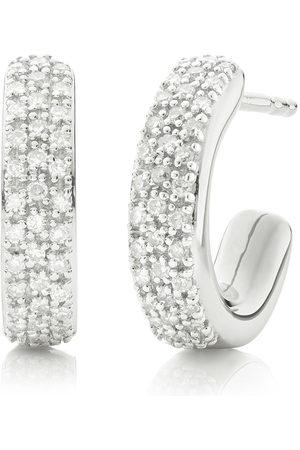 Monica Vinader Fiji små diamantörhängen