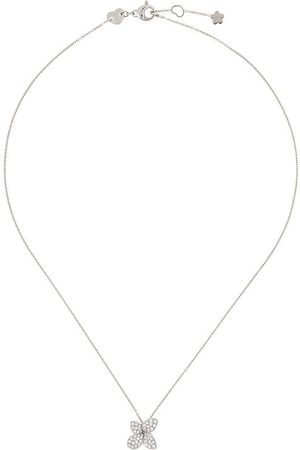 Pasquale Bruni Petit Garden diamanthalsband i 18K vitguld