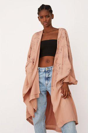 Zara Broderad kimono limited edition