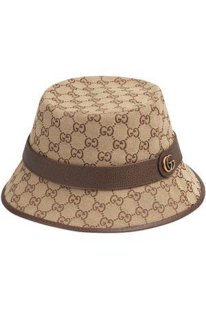 Gucci Logotypmönstrad fedorahatt
