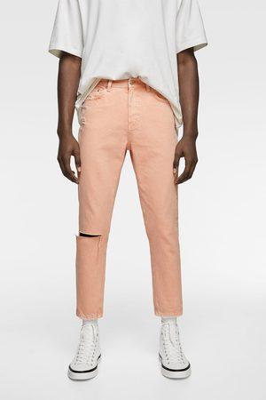 Zara Jeans i slim-modell med färg
