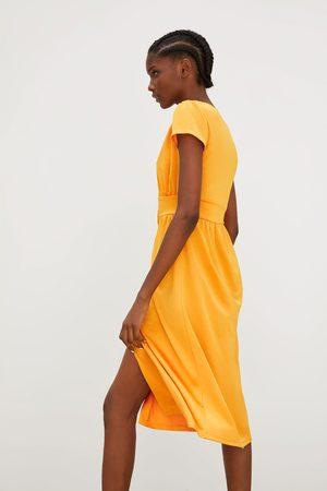 Zara fler kvinna klänningar, jämför priser och köp online