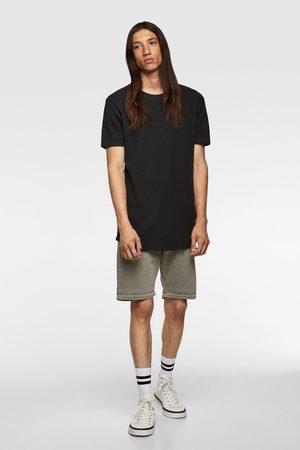 Zara Strukturskjorta med kraghalsduk
