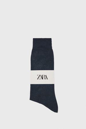 Zara Kvinna Strumpor & Sockar - Strumpor med mercerisering premium