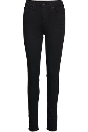 Levi's 721 High Rise Skinny Long Shot Skinny Jeans Svart