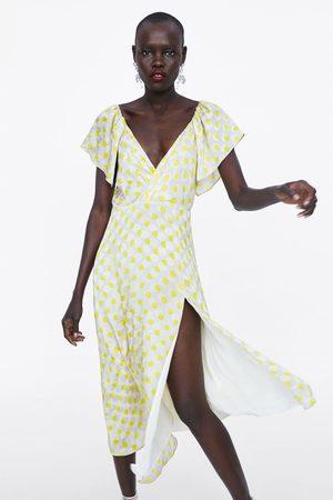 Zara Prickig långklänning