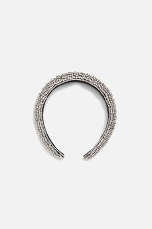 Zara Limited edition rhinestone headband