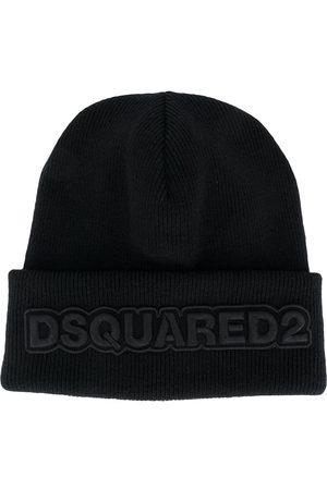 Dsquared2 Mössa med broderad logotyp