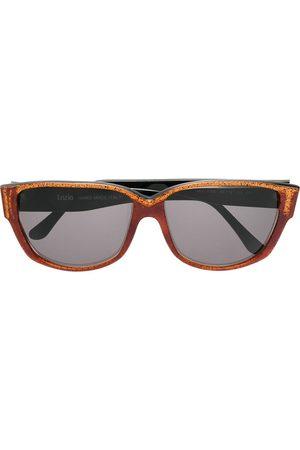 Krizia Pre-Owned Solglasögon med fyrkantiga bågar