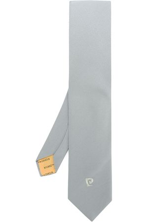 Pierre Cardin Embroidered logo tie