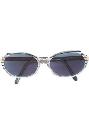 Yves Saint Laurent Ovala marmorerade solglasögon