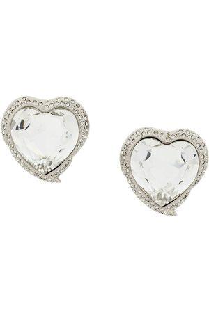 Yves Saint Laurent Hjärtformade örhängen