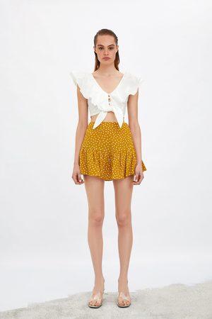 Zara Shortskjol med mönster
