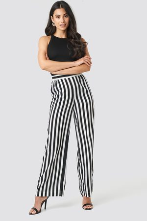 NA-KD Wide Striped Pants