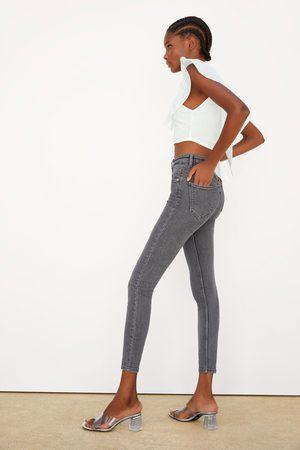 Zara Skinny-jeans med hög midja vintage