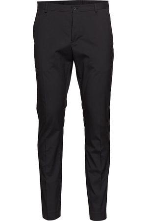 Selected Man Dressade byxor - Slhslim-Mylologan Black Trouser B Noos Kostymbyxor Formella Byxor