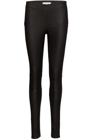 Samsøe Samsøe Delta Leggi 2169 Leather Leggings/Byxor