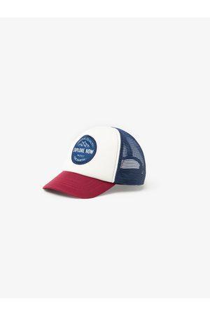 Zara Contrasting mesh cap