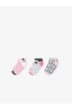 Zara Pack of three short panda socks