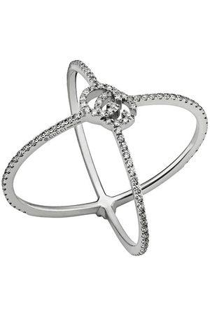 Gucci Diamantring med logotyp