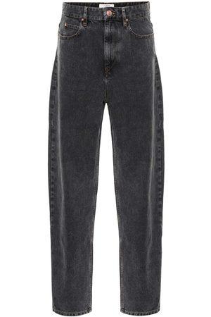 Isabel Marant, Étoile Kvinna High waist - Corsey high-rise straight jeans