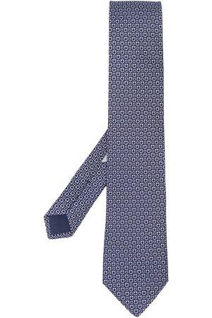Salvatore Ferragamo Gancini slips med tryck