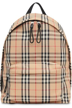 Burberry Vintagerutig ryggsäck