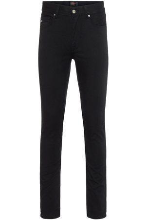 J Lindeberg Damien Black Stretch Denim Jeans Man