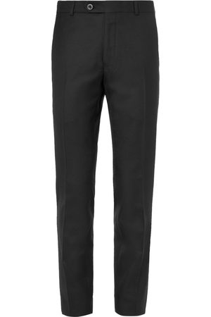 Mr P. Slim-fit Worsted Wool Trousers