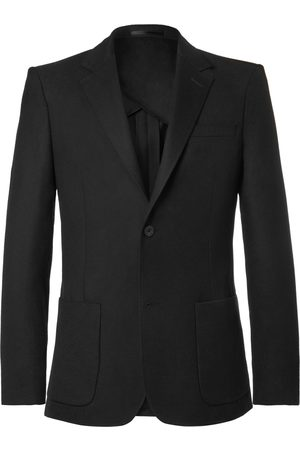 Mr P. Unstructured Worsted Wool Blazer