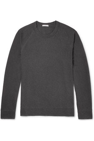 JAMES PERSE Man Sweatshirts - Loopback Supima Cotton-Jersey Sweatshirt