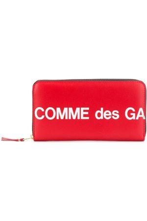 Comme des Garçons Rektangulär plånbok med logotyp