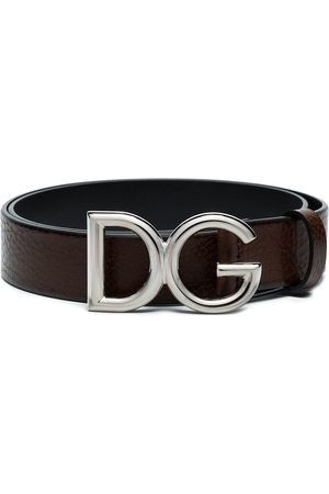 Dolce & Gabbana Skärp med logotypspänne