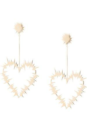 Karen Walker Electric Heart örhängen