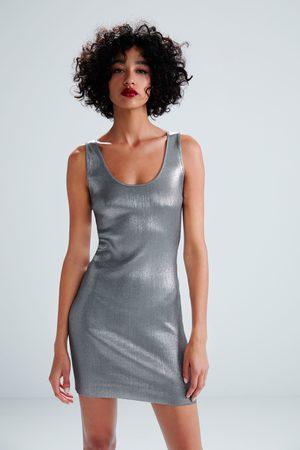 Zara Miniklänning med glitter